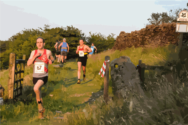 Eccles pike runners